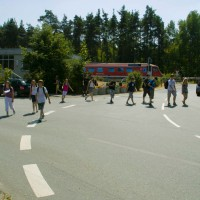 Bestand vorher - Schulweg